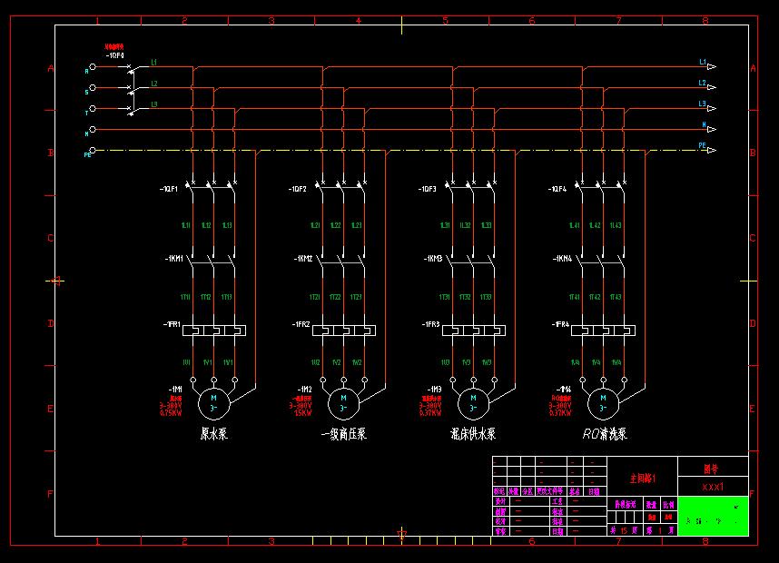 问下 这是什么软件 画的 电气图 求高手指教 工
