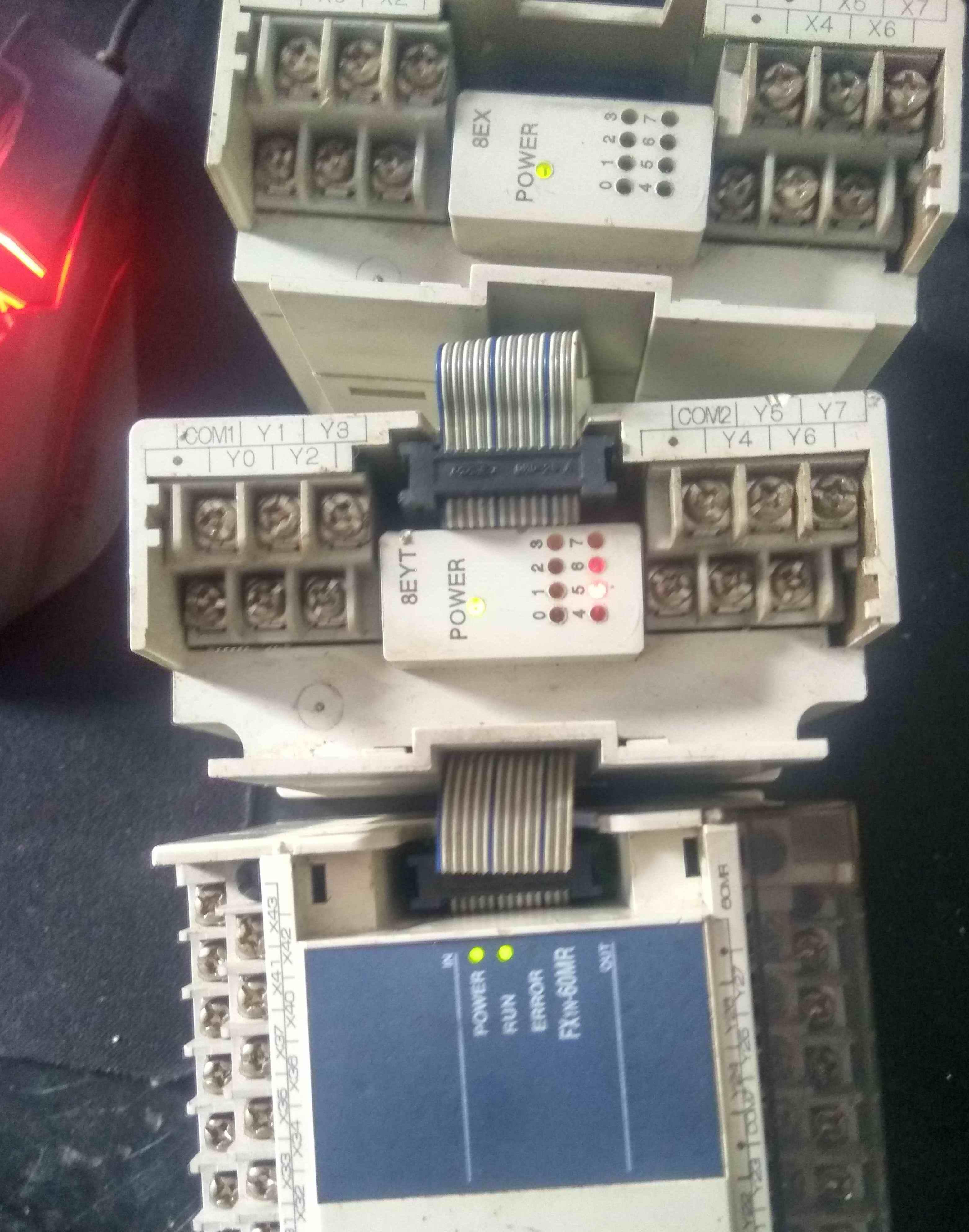 三菱PLC一套 功能正常图片实物 一套400元 616377674 13895463608-