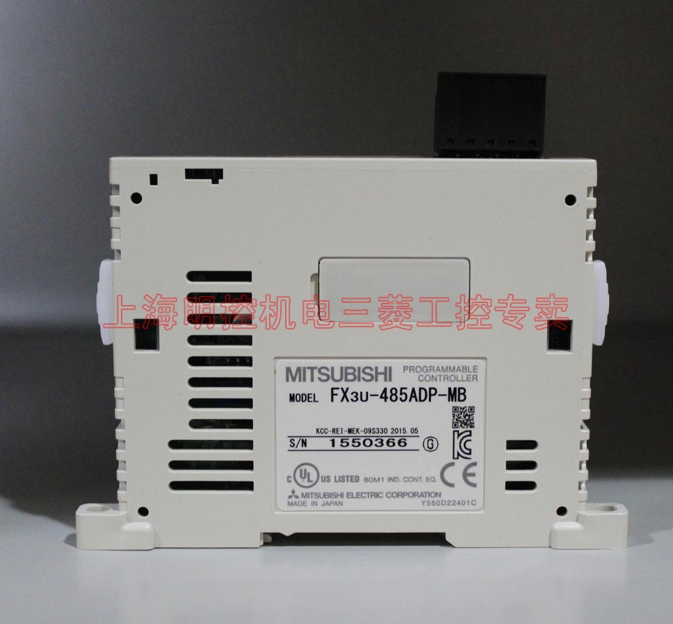 完整型号:FX3U-485ADP-MB (或称3U-485ADP-MB) 生产厂家:三菱日本工厂 功能简介:1通道RS485,支持MODBUS 备注说明:与FX3S连接用FX3S-CNV-ADP,与FX3G连接用FX3G-CNV-ADP,与FX3U连接用FX3U-CNV-BD或232/422/485/USB-BD 优惠售价:544元 ( 面价:1650 * 折扣0.330 ) 库存状况:现货 市场状态:常用 产品分类: